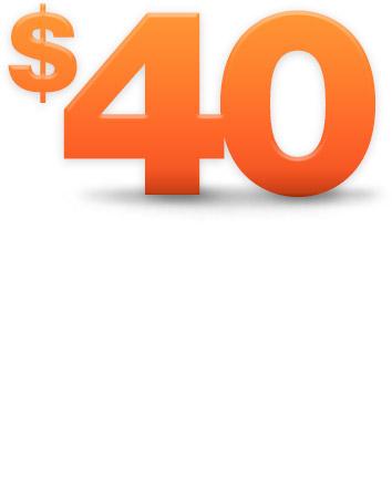 40$ In €
